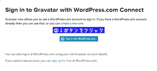 WordPress.comと連携①